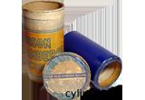 Edison Blue Amberol Cylinder