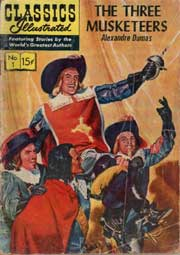 Classics Illustrated -001- The Three Musketeers