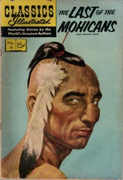 Classics Illustrated -004- The Last Of The Mohicans