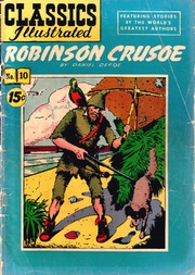 Classics Illustrated -010- Robinson Crusoe