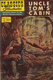 Classics Illustrated -015- Uncle Tom's Cabin