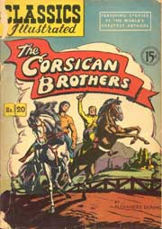 Classics Illustrated -020- The Corsican Brothers