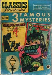 Classics Illustrated -021- Three Famous Mysteries