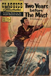 Classics Illustrated -025- Two Years Before The Mast