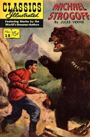 Classics Illustrated -028- Michael Strogoff