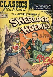 Classics Illustrated -033- The Adventures Of Sherlock Holmes