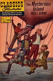 Classics Illustrated -034- The Mysterious Island