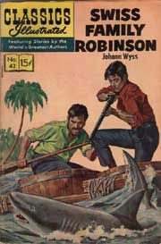 Classics Illustrated -042- Swiss Family Robinson