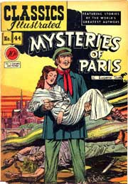 Classics Illustrated -044- Mysteries Of Paris