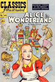 Classics Illustrated -049- Alice In Wonderland