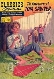 Classics Illustrated -050- The Adventures Of Tom Sawyer