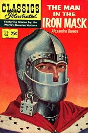 Classics Illustrated -054- The Man In The Iron Mask