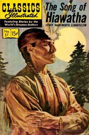 Classics Illustrated -057- The Song Of Hiawatha