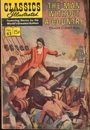 Classics Illustrated -063- The Man Without A Country