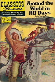 Classics Illustrated -069- Around The World In 80 Days