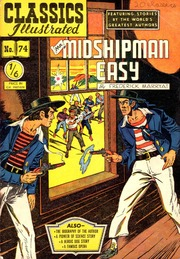 Classics Illustrated -074- Mr Midshipman Easy