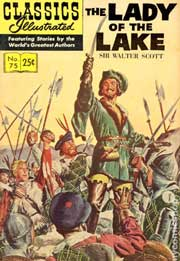 Classics Illustrated -075- The Lady Of The Lake
