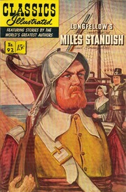 Classics Illustrated -092- The Courtship Of Miles Standish
