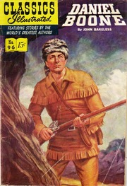 Classics Illustrated -096- Daniel Boone