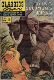 Classics Illustrated -097- King Solomon's Mines