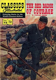 Classics Illustrated -098- The Red Badge Of Courage