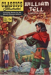 Classics Illustrated -101- William Tell