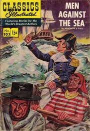 Classics Illustrated -103- Men Against The Sea