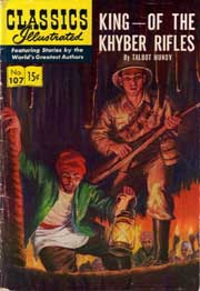 Classics Illustrated -107- King Of The Khyber Rifles