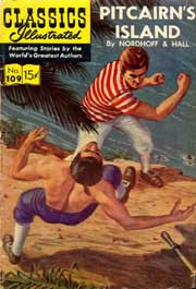 Classics Illustrated -109- Pitcairn's Island