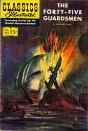 Classics Illustrated -113- The 45 Guardsmen