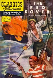 Classics Illustrated -114- The Red Rover