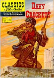 Classics Illustrated -129- Davy Crockett
