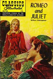 Classics Illustrated -134- Romeo And Juliet