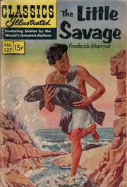 Classics Illustrated -137- The Little Savage