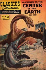 Classics Illustrated -138- Journey To The Center Of The Earth