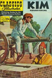 Classics Illustrated -143- Kim