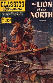 Classics Illustrated -155- Lion Of The North