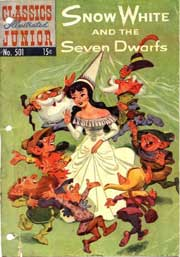 Classics Illustrated Junior -501- Snow White And The Seven Dwarfs