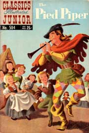 Classics Illustrated Junior -504- The Pied Piper