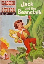 Classics Illustrated Junior -507- Jack And The Beanstalk