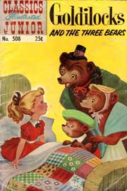 Classics Illustrated Junior -508- Goldilocks And The Three Bears