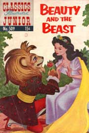 Classics Illustrated Junior -509- Beauty And The Beast