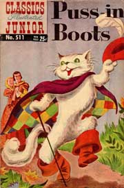 Classics Illustrated Junior -511- Puss In Boots