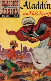 Classics Illustrated Junior -516- Aladdin And His Lamp