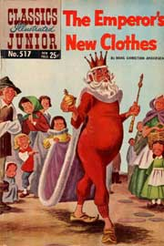 Classics Illustrated Junior -517- The Emperor's New Clothes