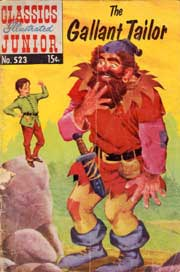 Classics Illustrated Junior -523- The Gallant Tailor