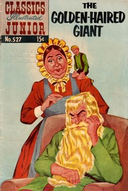 Classics Illustrated Junior -527- The Golden Haired Giant