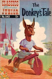Classics Illustrated Junior -542- The Donkey's Tale