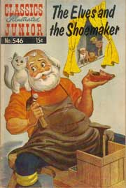 Classics Illustrated Junior -546- The Elves And The Shoemaker