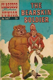 Classics Illustrated Junior -567- The Bearskin Soldier